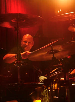 Mark Morin - drums